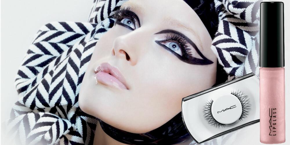"""KJØLIG LOOK: Mac Cosmetics nye lokk, """"Chill"""", kombinerer lyse og mørke toner. Koster mellom kr 100 og 190."""