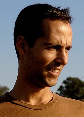 VINNEREN: Luis Pereira Miguel fra Portugal vant Benettons designkonkurranse.