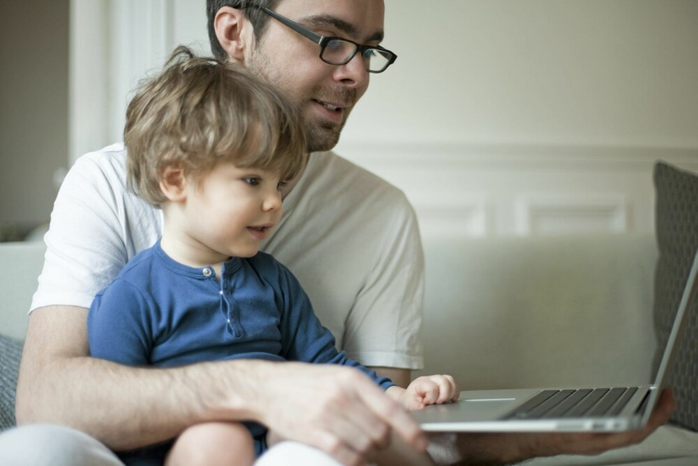 ERFARNE NETTBARN: - En del 3-åringer er ganske erfarne brukere når det gjelder nye medier - de har vært på nett halve livet, sier forsker Elisabeth Staksrud.