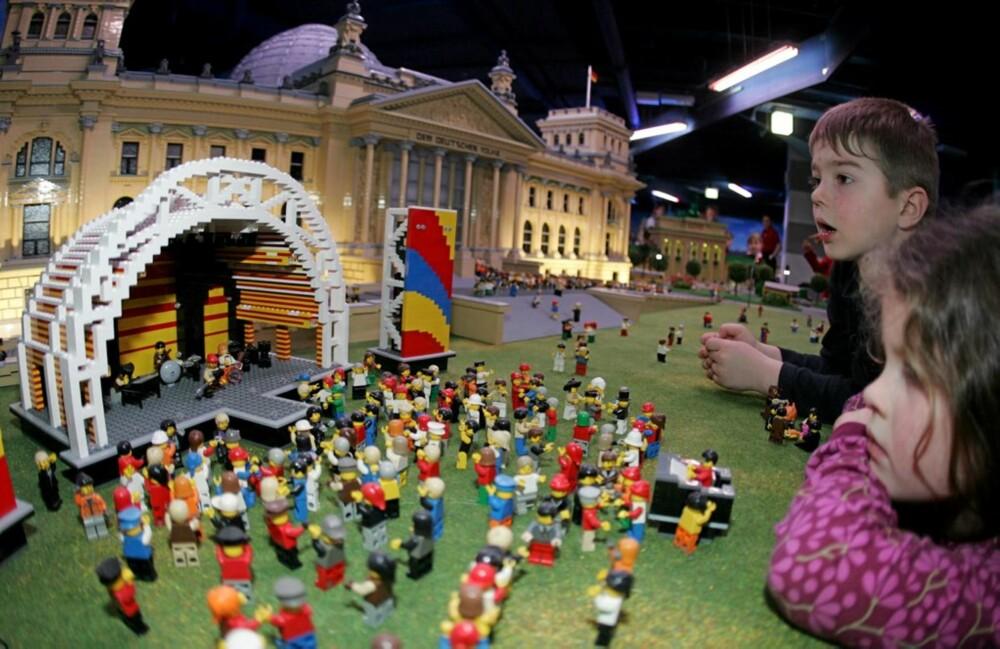 LEGOVERDEN: Det er ikke bare i Danmark du finner Legoland. I Berlin finnes Legoland Discovery Center - vel verdt et besøk med barna.