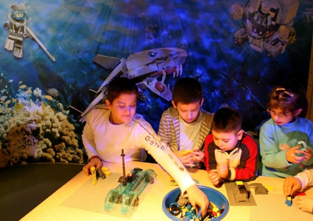 AQUARAIDERS: Undervannsverden i Legoland Dicovery Center.