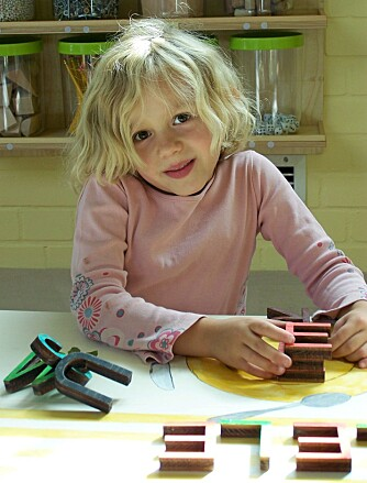 LÆRERIKE AKTIVITETER: Det er mye lærerikt å finne på for de minste barna på Labyrinth Kindermuseum.