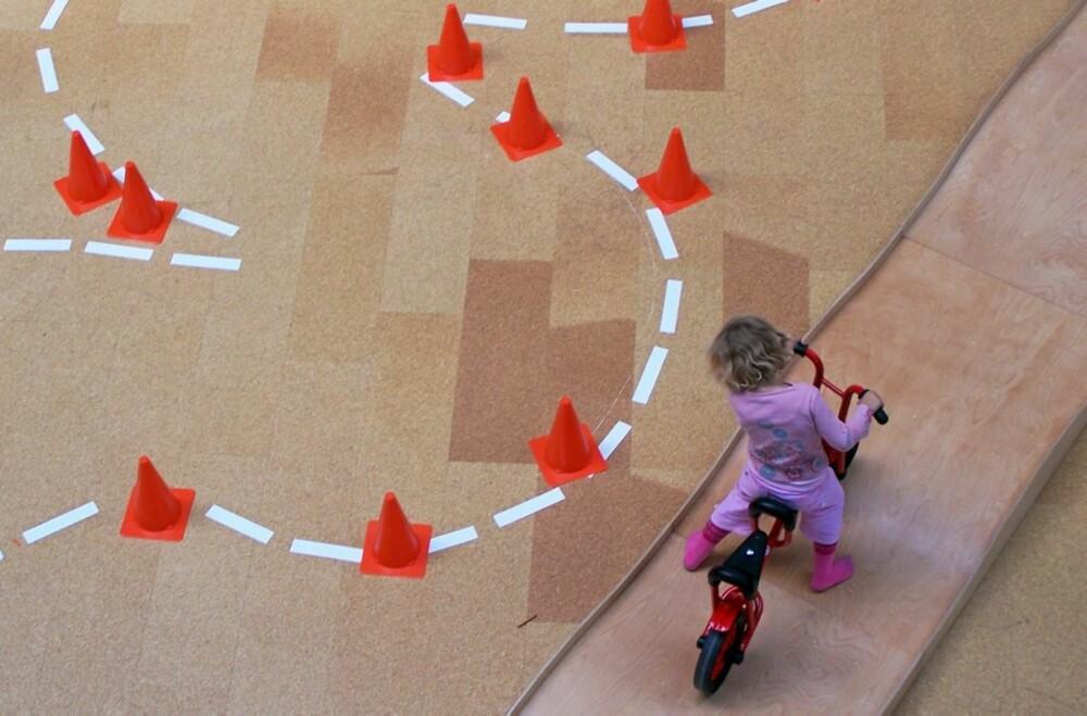 LABYRINTH: Labyrinth er et stort barnemuseum i Berlin med mange aktiviteter for de minste barna.