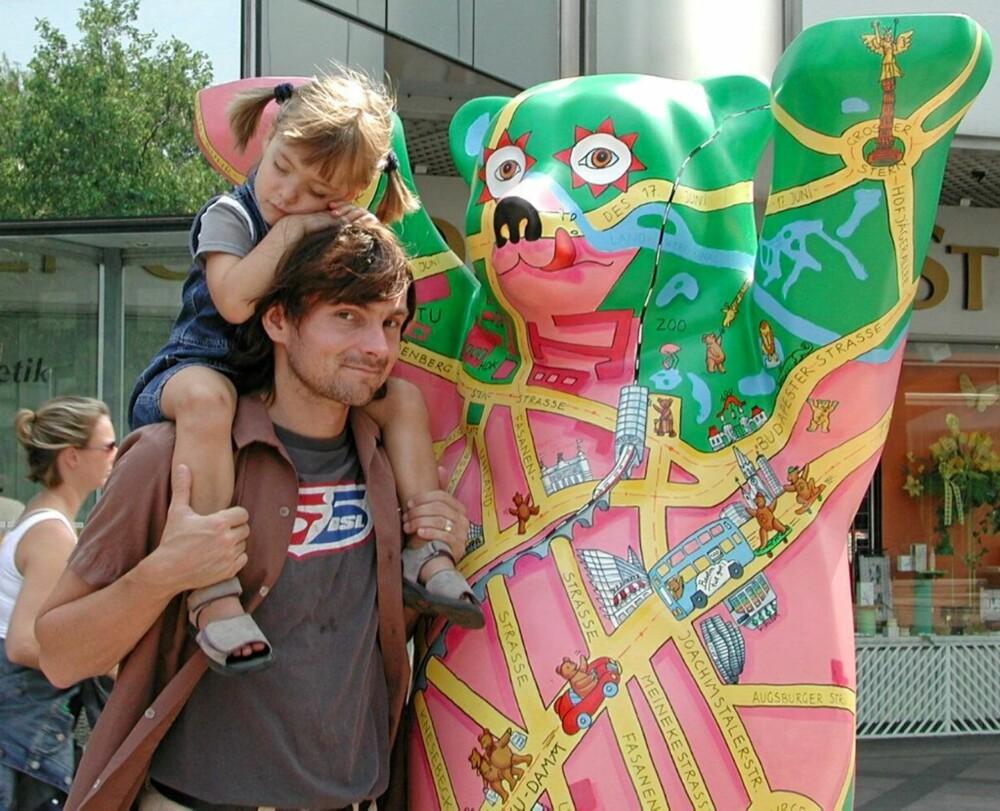 UTSLITT: Barna kommer garantert til å sove godt etter en dag i Berlins mange fornøyelsesparker og museer.