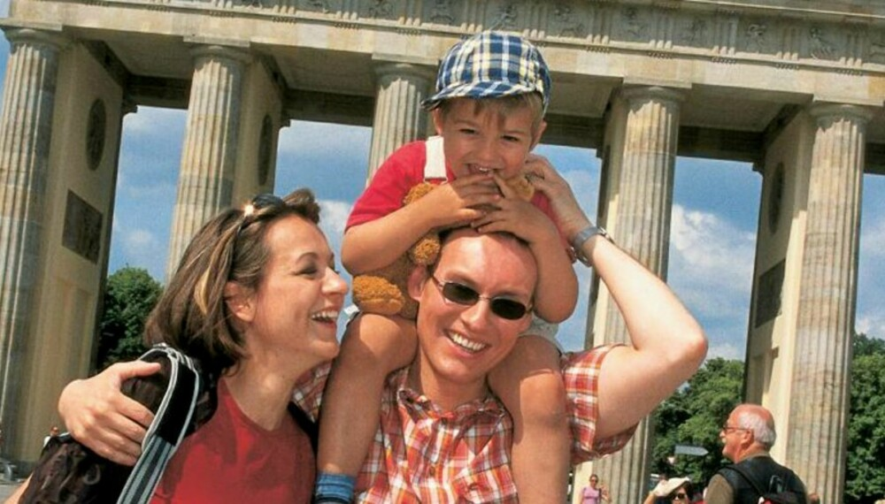 BRANDENBURGER TOR: I Berlin er det flust av spennende ting du kan ta med barna på. Brandenburger Tor blir trolig ikke høydepunktet.