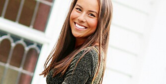VERTINNEN: Maria Rathi Øen (25) liker bedre å være vertinne en gjest. Les hennes beste festtips under.