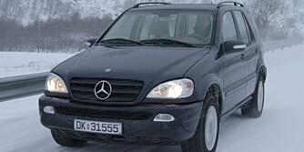 MERCEDES M-KLASSE: Svak kvalitet i starten, modeller fra 2002-2005 er best.