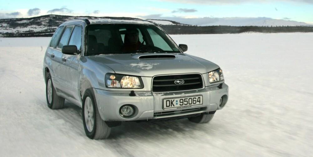 SOLID: Subaru Forester er blant de beste, eldste bilene.