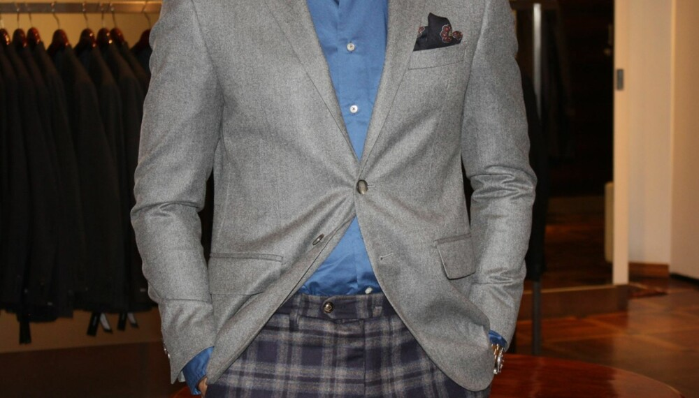 7a7b6b06 DRESSJAKKE UTEN BUKSE: En fin hverdagsdress kan fint kombineres med andre  plagg. Vi viser