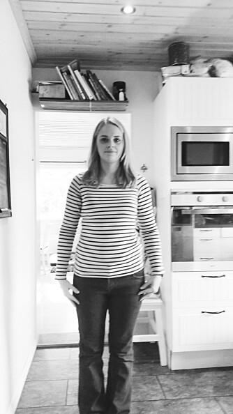 FØR: Slik så Elise ut før hun fikk en makeover av Kamille-teamet.