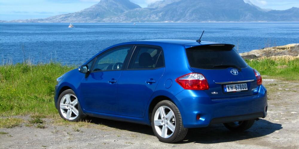 FÅ KLIKK: Toyota Auris (her en 2010-modell) er nesten nederst på Finns lister over visninger per annonse. FOTO: Terje Bjørnsen