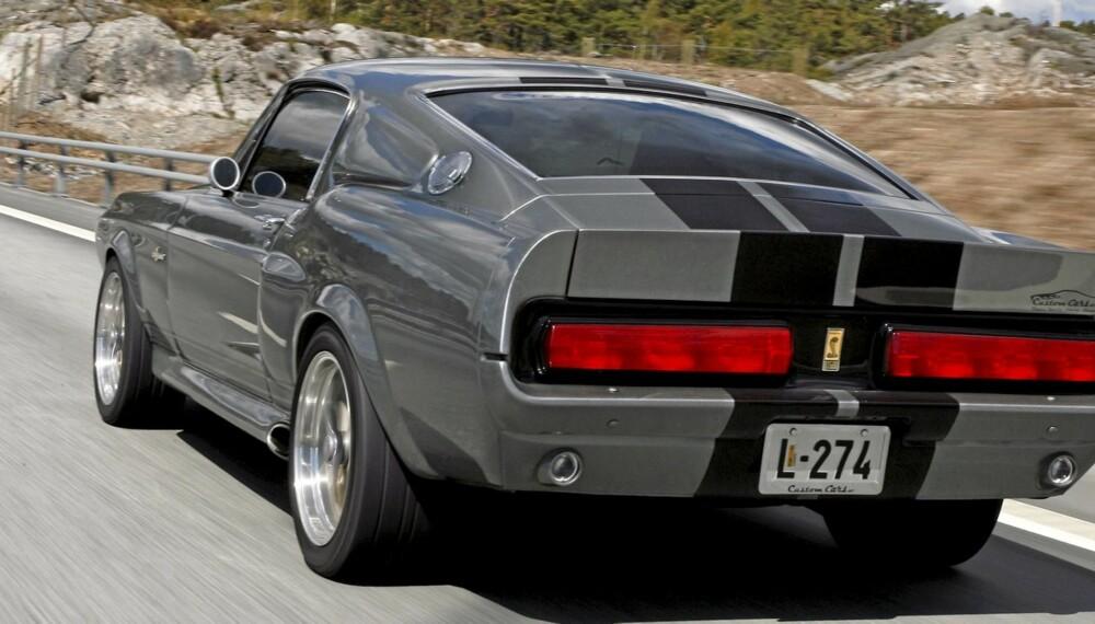 """ETTERTRAKTET: Finn-annonser for Ford Mustang får svært mange til å klikke. Her en kopi av den legendariske bilen fra filmen """"Gone in 60 seconds""""."""
