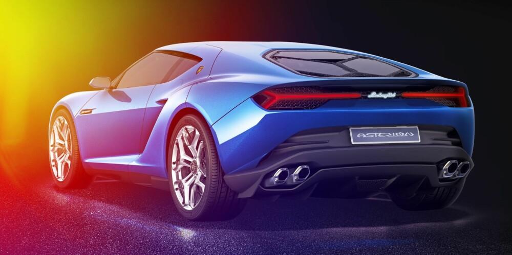 NY OKSE: Lamborghini Asterion med over 900 hestekrefter.