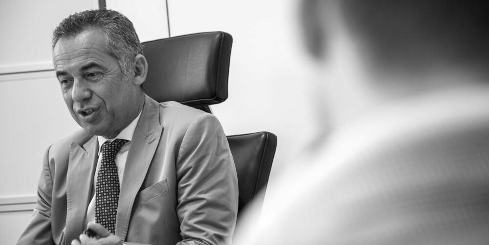 MÅ HA GRENSER: Alle prosjekter på ha en grense og et pristak, sier Maurizio Reggiani, utviklingssjef i Lamborghini.