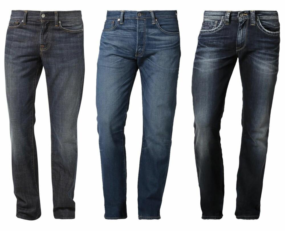 225a22eb RAW DENIM FOR GUTTER: Kjøper du en dry jeans, altså en ubehandlet bukse,