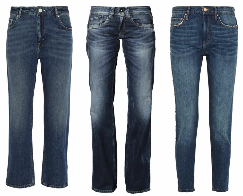 a6fdcc81 RAW DENIM FOR JENTER: Fra venstre: Pop Cropped Boyfriend Jeans fra Acne, kr