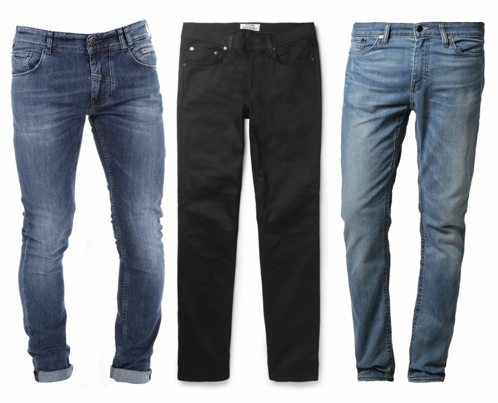 fba7da74 SLIM FIT: Fra venstre: Clean Jim - 020 D Slim Fit Washed Denim Jeans