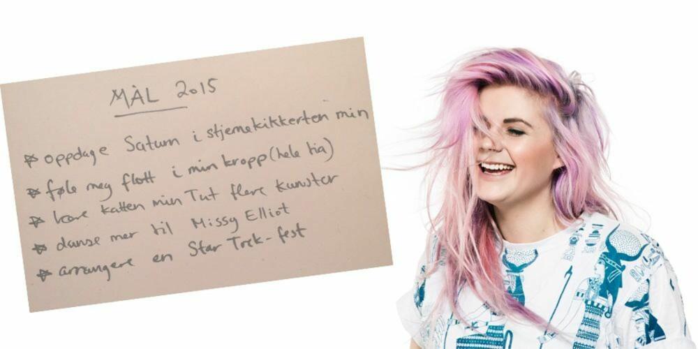 FOKUS PÅ SELVBILDE: Line  Elvsåshagen