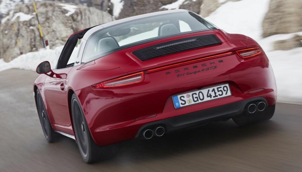 PLUG-IN: Porsche vurderer å gjøre en ladbar hybrid-versjon av Porsche 911. FOTO: Porsche