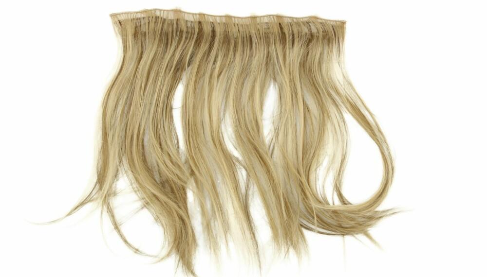 UNNGÅ SLITASJE: Hårrextensions skal i utgangspunktet ikke slite på håret, men du skal likevel være obs. Det finnes nemlig et par fallgruver, forteller frisørene.