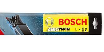 BEST: Viskerne fra Bosch er best i test, men de er også dyre. FOTO: NAF/ADAC