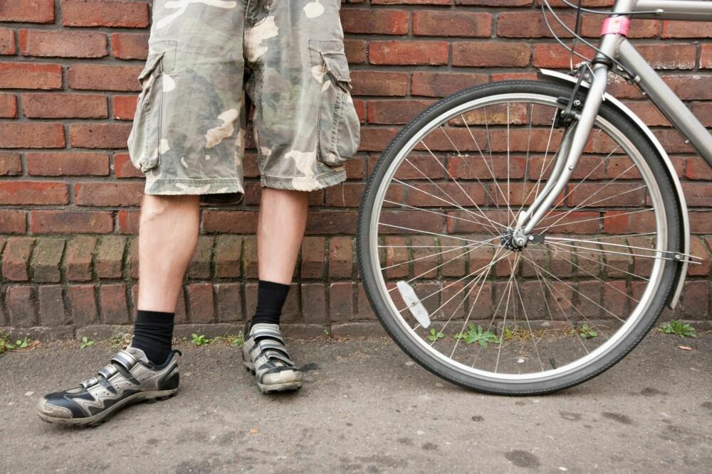 SHORTS: Ankelsokker og fotsokker er tingen når du bruker korte bukser eller shorts, spesielt hvis det ikke er treningsshorts det er snakk om.