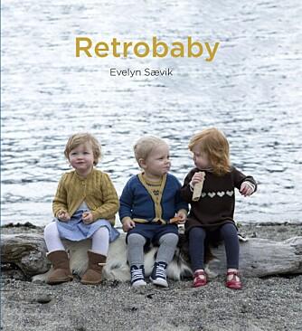 Boka Retrobaby er full av sjarmerende strikkeoppskrifter.