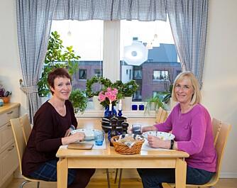 Grønnsakssuppe på menyen: Nå elsker Kirsten å komme på besøk til Karens kjøkken og få servert noe så sunt og godt.