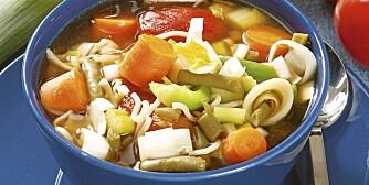 Suppe får deg ned i vekt.
