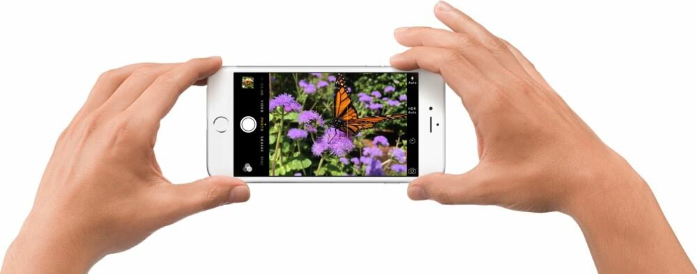 UTLØSERKNAPP: Visste du at du kan bruke volumknappen for å ta bilder?