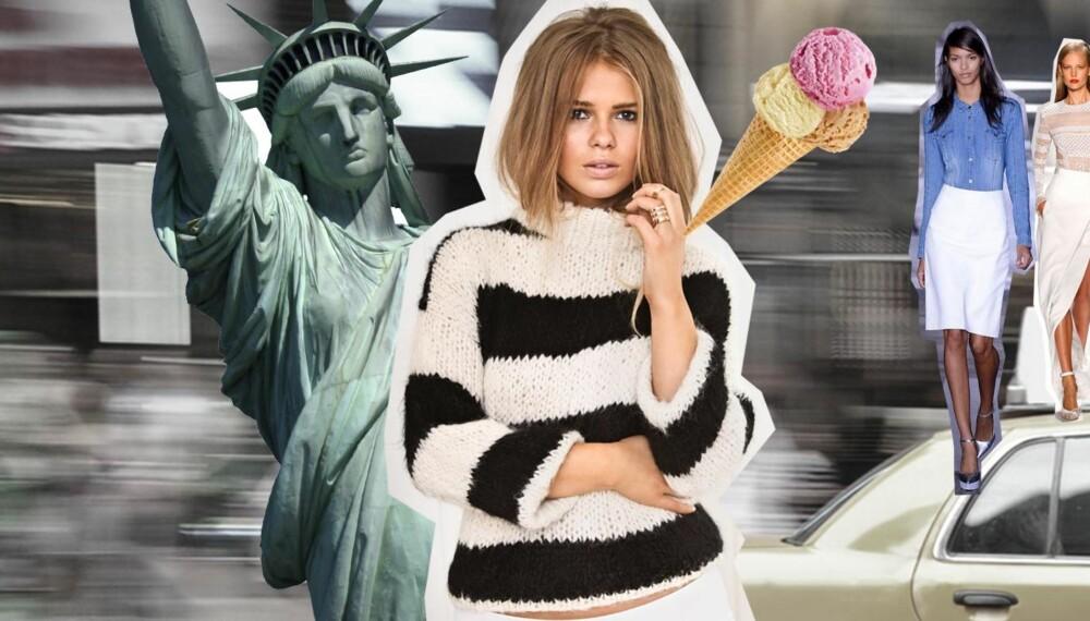 DRØMMEN OM NEW YORK: Åshild Ringhus har planer om å være ekte turist når hun kommer til New York, og hun skal definitivt svippe innom Frihetsgudinnen.