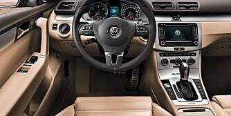 VW Passat Alltrack pressebilder prøvekjøring februar 2012.