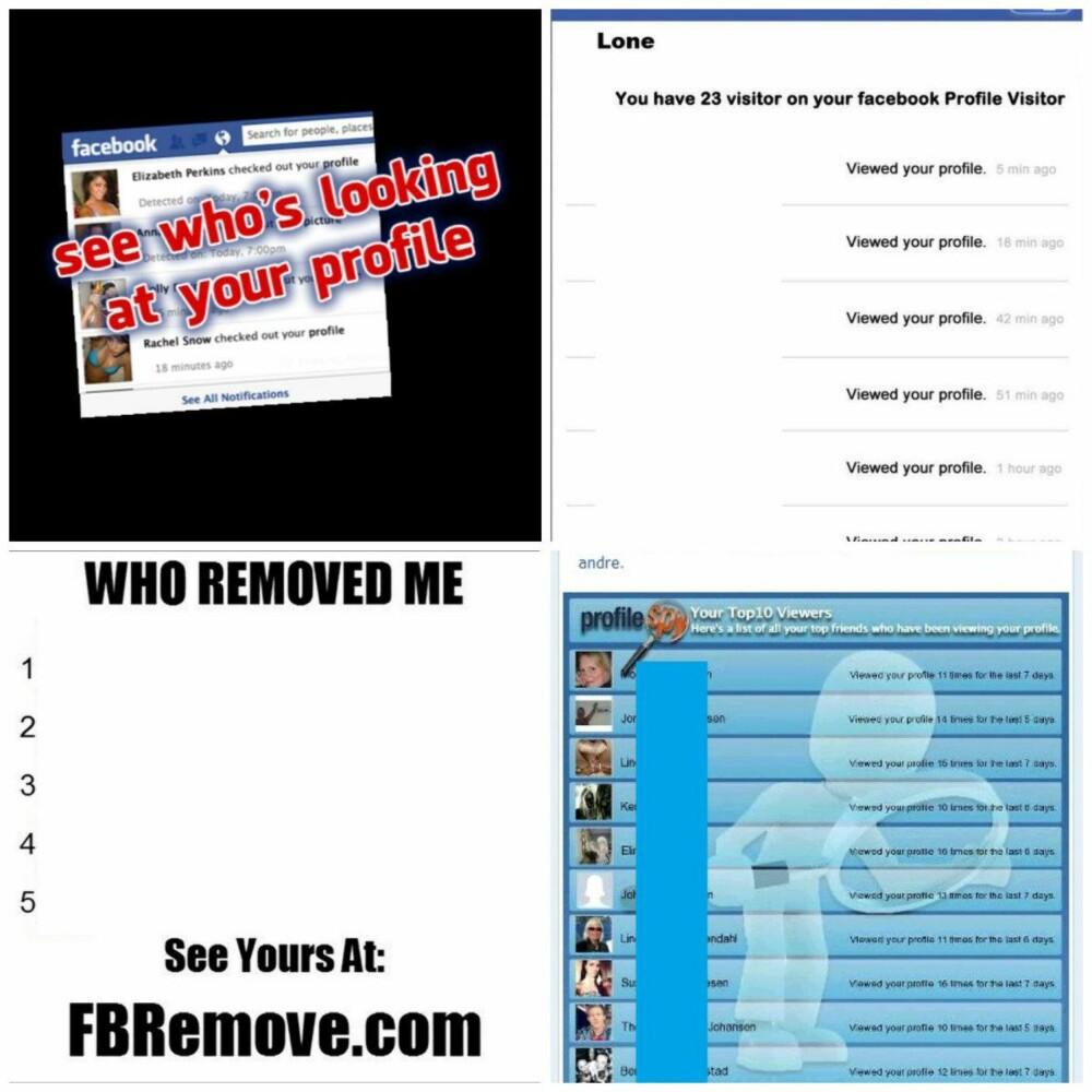 NIKS: Du får ikke se hvem som er dine Facebook-beundrere.