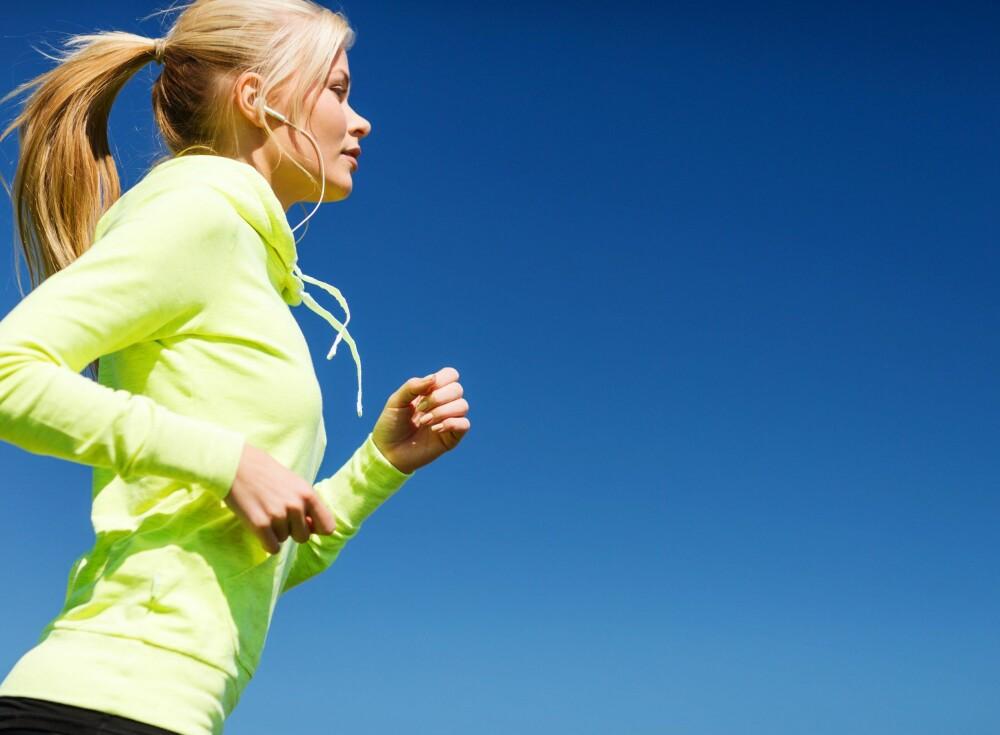 VÆR AKTIV: Tren styrke om du vil ha mindre cellulitter. FOTO: Colourbox