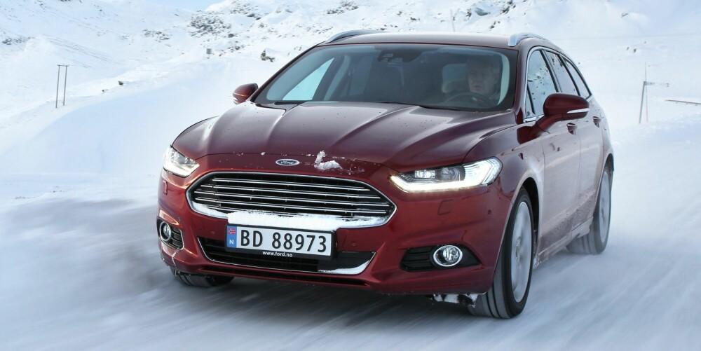 BILTEST: Ford Mondeo. FOTO: Petter Handeland