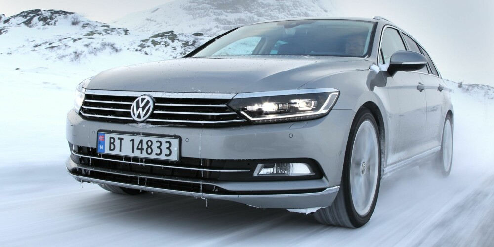 BILTEST: VW Passat. FOTO: Petter Handeland