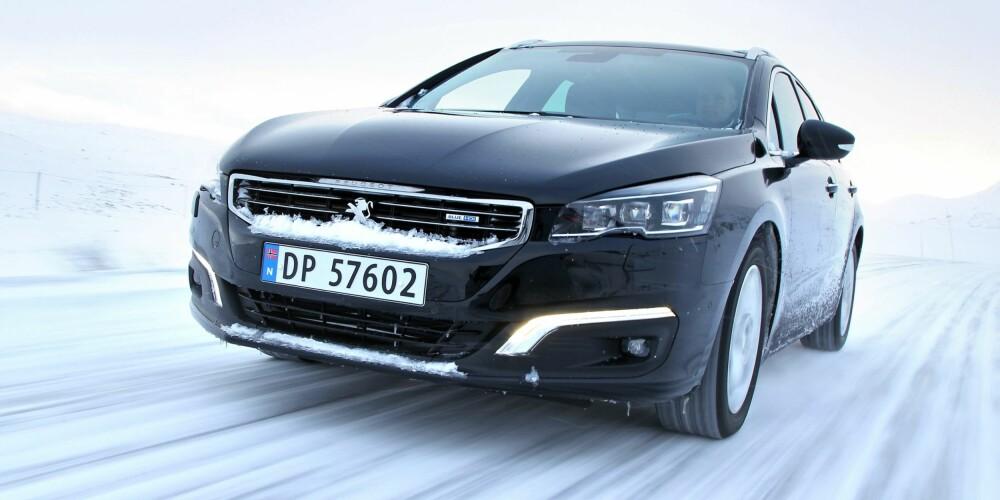 BILTEST: Peugeot 508 SW. FOTO: Petter Handeland
