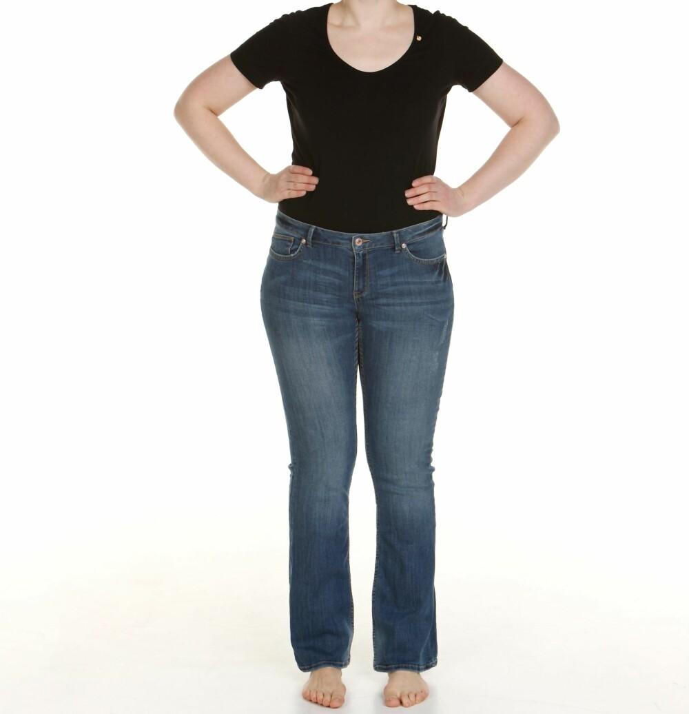 21d09971 FOR STORE: Buksen fra Lindex i størrelse 40 er en størrelse for stor.