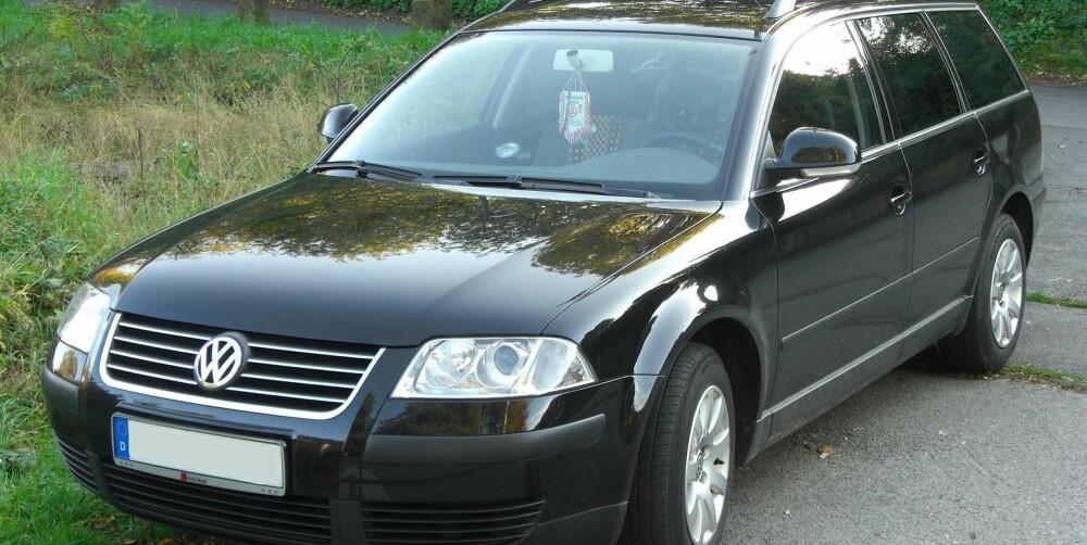 PASSE: VW Passat av denne generasjonen var ikke feilfri da den kom, men den holder desto bedre.