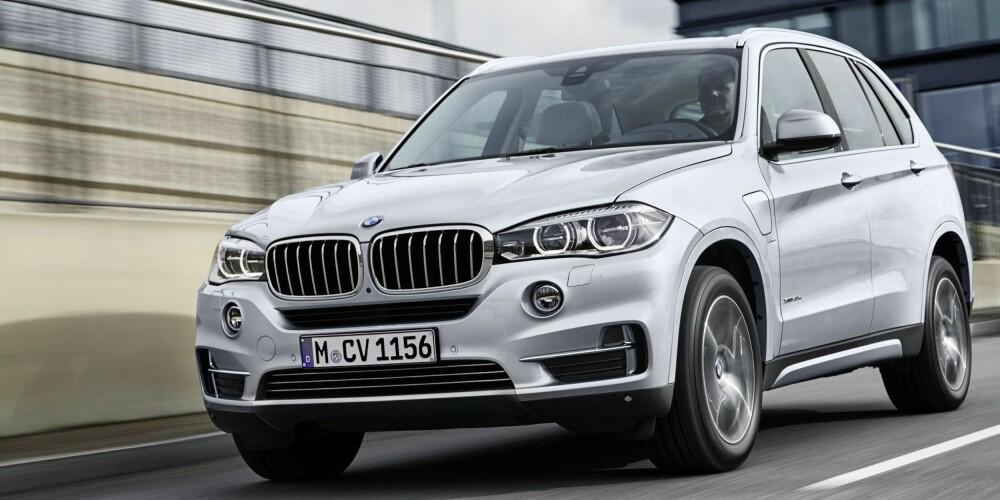 PLUG IN: BMW X5 xDrive 40e er ventet til Norge i november. FOTO: BMW