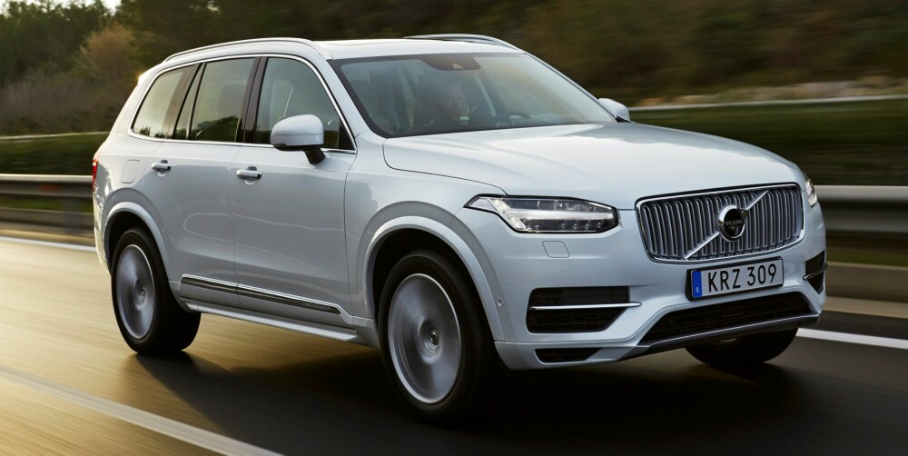 PLUG IN: Volvo XC90 T8 Twin Engine kommer også i november. FOTO: Volvo