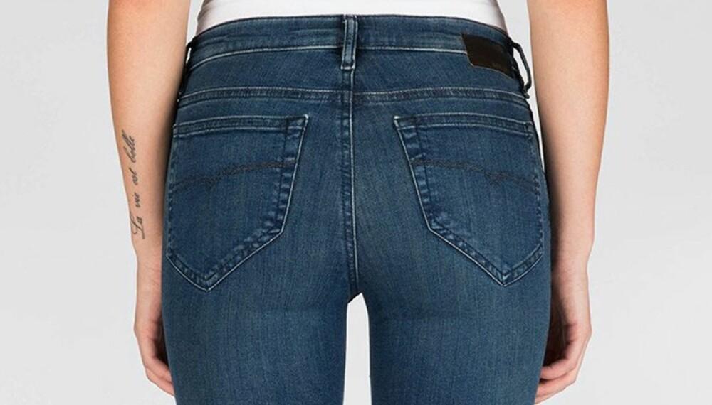 57dd0d2f PERFEKTE JEANS: Det kan være vanskelig å finne jeans som sitter som de skal,
