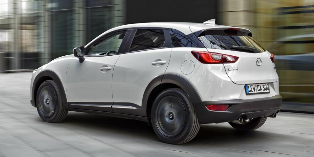 SPENSTIG DESIGN: Mazda gjør mye riktig om dagen, og design er uten tvil noe av det de er best på. CX-3 er ikke et unntak.