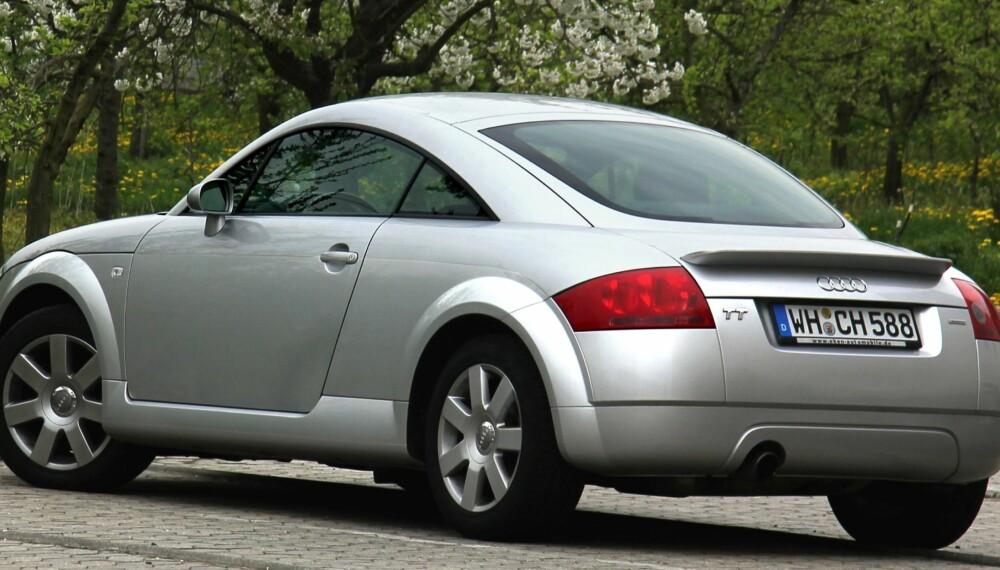 SPORT: Audi TT er en relativt rimelig sportsbil, og ifølge Dekra har den få feil.