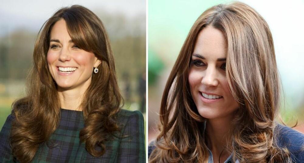 FOR TUNGT: Se så mye yngre Hertuginne Kate ser ut når håret er litt kortere og mer klippet opp.