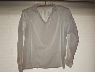 HENG DEN OPP: Når skjorta er vasket er det lurt å henge den opp med det samme.