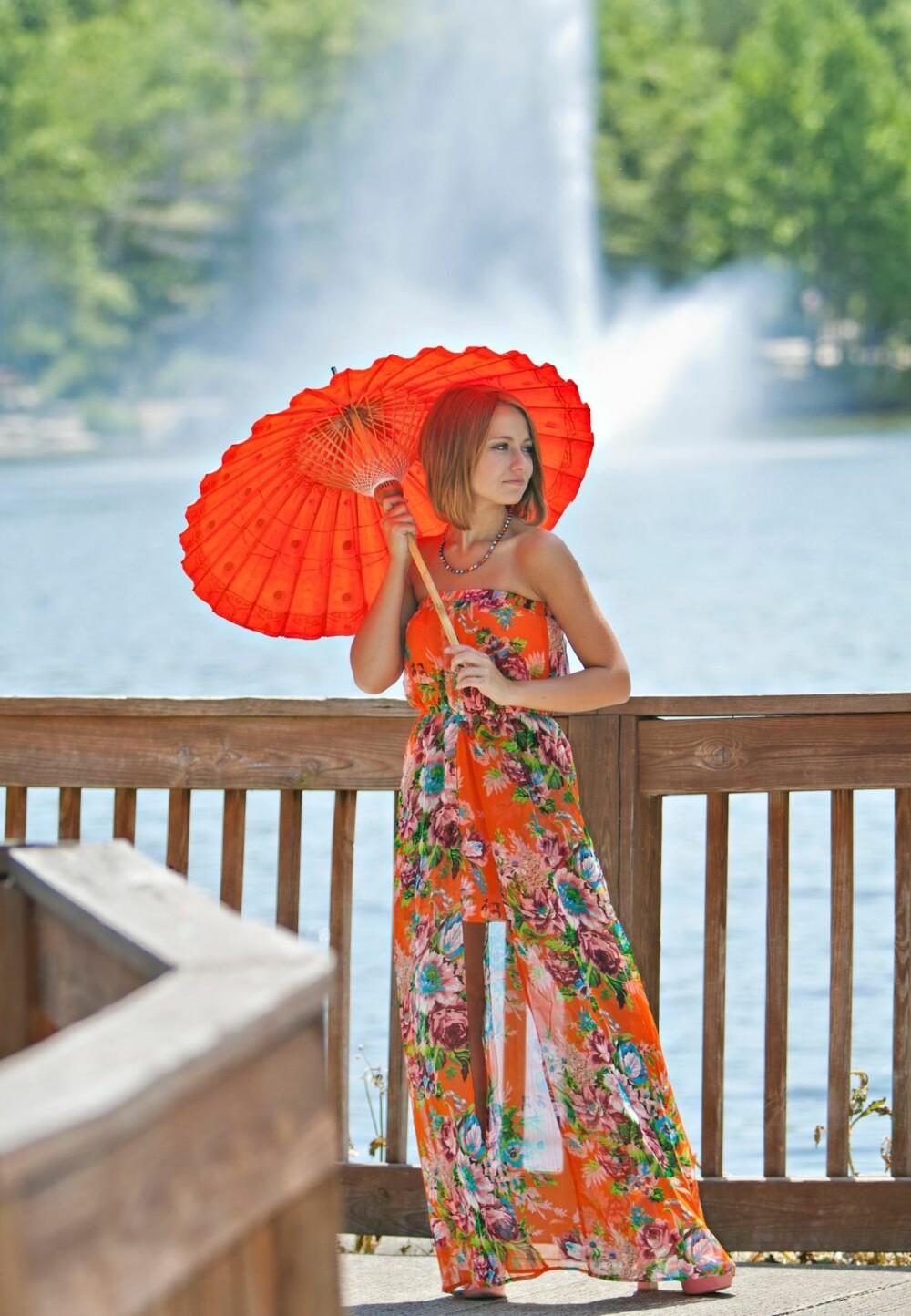 MAXI-KJOLE: Den perfekte maxi-kjolen kan man regelrett bo i, hele sommeren.