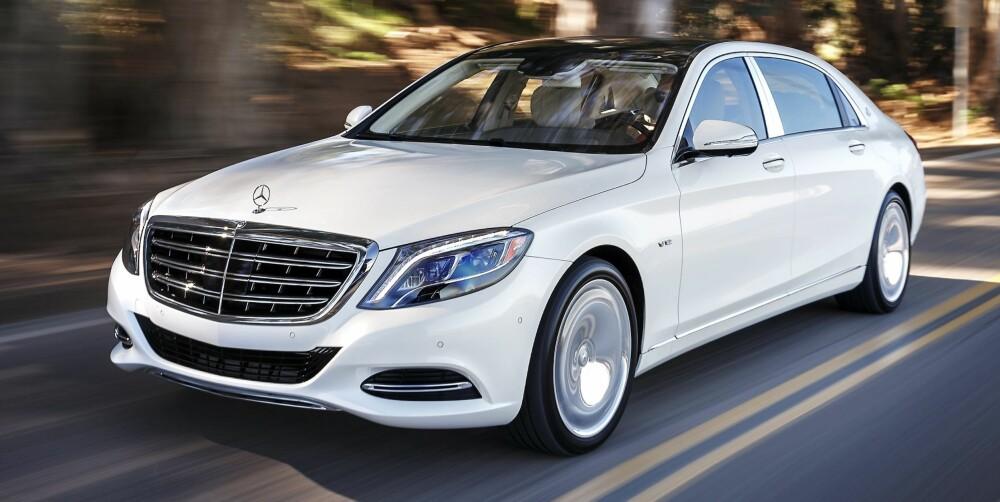 MERCEDES-MAYBACH: Bare biler fra Bentley og Rolls-Royce kan matche denne luksusen. FOTO: Produsent