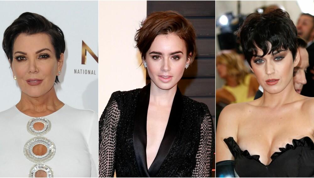 MANGE VALG: Selv om håret er kort, har man fortsatt mange valg når det kommer til frisyre og klipp