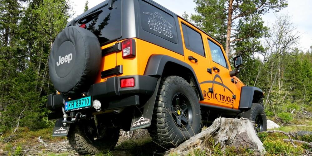 BARSK: AT 37 er konstruert for å ta seg frem. FOTO: Martin Jansen